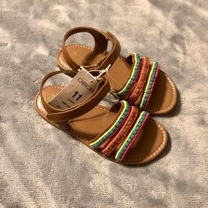 Girls Toddler Size Sandals